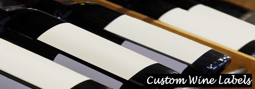 custom wine & spirit Labels